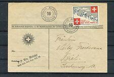 Feldpost Schweiz Soldatenmarke Rgt.Fant.Mont.32 - b3137