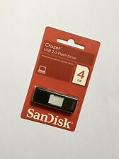 SanDisk Cruzer Capless 4GB USB Flash Drive FACTORY SEALED