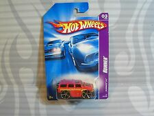 2007 HOT WHEELS ''HUMMER'' #063 = HUMMER H3 = RED