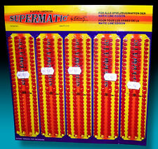 EDISON GIOCATTOLI SUPERMATIC AMORCES 70s BIG DISPLAY PACK 520 SCHUSS COLPI WICKE