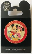 Disney Disneyana Shop 4th Annual Celebration Pin Mickey Minnie Donald Pluto