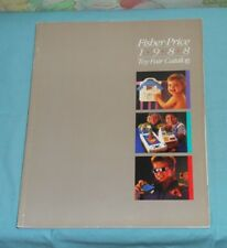 original 1988 FISHER-PRICE TOY FAIR CATALOG toys Construx Little People
