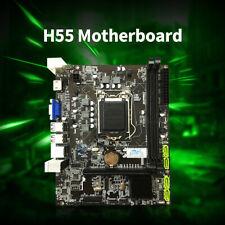 Jingsha H55 Scheda madre Mainboard M-ATX DDR3 LGA 1156 CPU Core i5 760 P5W4