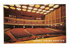Opera House Seattle - Interior with a Seating Capacity of 3077 -U.S. Marine Band