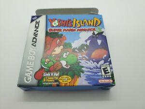Yoshi's Island: Super Mario Advance 3 (Nintendo Game Boy Advance, 2002) with Box