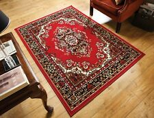 Element Lancaster Traditional Classic Oriental Design Red Rug in 6 sizes Carpet