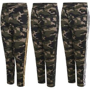 Ladies Warm Camo Trousers Women Thermal Faux Fur Lined Bottoms Leggings UK 12-22