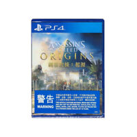 Assassin's Creed Origins PlayStation PS4 2016 English Chinese Factory Sealed