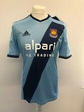 Adidas West Ham United Jersey Men's Bleu Mix Soccer Shirt Football UK M NEW!!