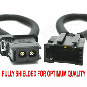 MOST fiber optic loop bypass MALE & FEMALE kit adapter for Audi BMW MERCEDES UK