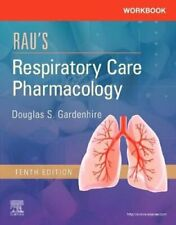 Workbook for Rau's Respiratory Care Pharmacology 9780323553650 | Brand New