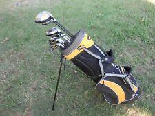 Alien TOUR GOLD Men's Golf Set ⛳ Driver, 3 Wood, Hybrids, Irons, Putter & Bag