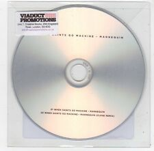 (FC161) When Saints Go Machine, Mannequin - 2013 DJ CD