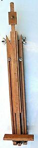 Vecchio cavalletto per pittori reggi quadro in legno -Perfetto