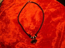 Nice_Necklace/Chain _Cord with pendant and Glitter Stones_39cm_Pierre Lang