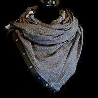NWT! SOFT! Lululemon Vinyasa Scarf - Heathered Black Herringbone