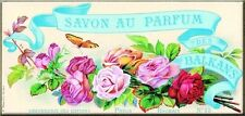 French Advertising Savon Soap Perfume Roses Sign Balkan