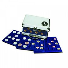 #176 Compact Aluminum Coin Carrying Case with 6 Trays