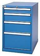LISTA XSMP0750-0402 - MP750 4-Drawer Bench Height Storage Cabinet