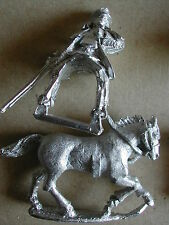 1 COW-BOY A CHEVAL/ ON  HORSE FOUNDRY MINIATURES OLD WEST WESTERN  LOTOW