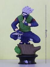 Naruto Shippuden 8cm Japanese Anime Figure KAKASUI HATAKE