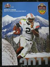 2011 BCS National Championship Cam Newton Football Program - Auburn vs Oregon