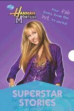 Disney Hannah Montana Superstar Stories NEW ! SEALED 4 Book Box Set KIDS BOXSET