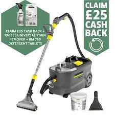 KARCHER PUZZI 10/2 CARPET CLEANER - FLOOR AND HAND TOOL INCLUDED FOC - 11931220