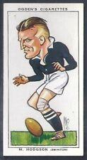 OGDENS-FOOTBALL CARICATURES-#42- RUGBY LEAGUE - SWINTON - HODGSON