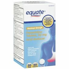 Equate Famotidine Tablets 20mg 50ct
