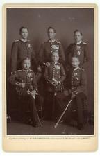 Kronprinz Friedrich-Wilhelm & Brüder Vintage silver print. Tirage argentiq
