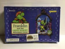 2000 FRANKLIN & THE GREEN KNIGHT ADVENTURE BOARD GAME 3 GAMES PRESSMAN Complete!