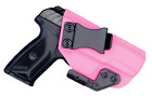 IWB Concealed Carry CCW Kydex Holster with ModWing Claw - Right Hand - Hot Pink