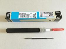 1pc T80 Scraper with 1pc NOGA SC8000 Adjustable-Scraper Handle Deburring Tool