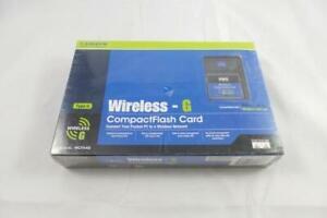 Cisco-Linksys Wireless-G Compact Flash Card (WCF54G)