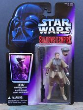 STAR WARS Shadows of the Empire LEIA Boush action figure KENNER NIP Hologram