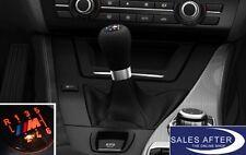 Original BMW M Schaltknauf beleuchtet Leder schwarz 5er F10 M5 - 6 Gang -
