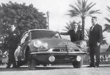 carte postale - CITROËN DS ID 19 - 28ème Rallye Automobile de Monte Carlo 1959