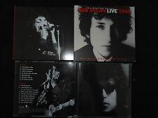 RARE COFFRET 2 CD BOB DYLAN / LIVE 1966 / LIVRET AVEC PHOTOS ET TEXTE /