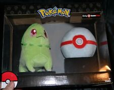 Chikorita + Premier Ball Pokemon Plush Dolls Toys Authentic Official TOMY NEW