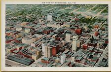 VTG Air Aerial Sky View of Birmingham Alabama AL Postcard