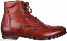 STEFANO BRANCHINI WINGTIP ANKLE BOOTS MENS US 7 ITALIAN DESIGNER MENS SHOES