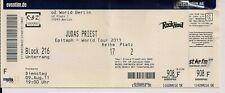 JUDAS PRIEST Used Free Ticket Berlin 09.08.2011