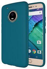 Diztronic TPU Full Matte Case for Motorola Moto G5 Plus -Teal Blue Teal Blue