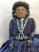 Vintage Native American Indian Souvenir Doll