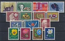 Schweiz Jahrgang 1958 postfrisch / in den Hauptnr. kompl. (10940) ..............