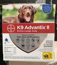 K9 Advantix Ii Flea Medicine Extra Large Dog - 4 Month Supply