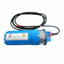 12V Submersible Deep DC Solar Well Water Pump, battery, alternate energy G2Q8