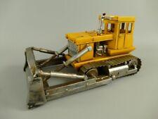 Bulldozer Blechmodell Retro Modellauto Planierraupe aus Metall L:26x13x15cm