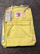 New listing Fjallraven Kanken Medium Yellow Backpack Mwt